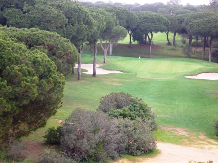 The 13th Par 3 at Vila Sol